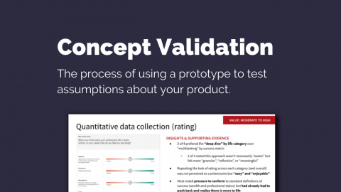 ROI of User Research: Concept Validation