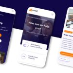 Three mobile device screens displaying the Avast application.
