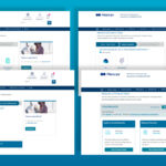 Four screenshots of the Product Picker tool on Mercer's website. Each screen shows a step within the Product Picker tool: Step 1- Type of Data, Step 2- Location, Step 3- Data Refinement, and the Results.