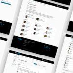 Several screenshots of the MIT UPOP web application.