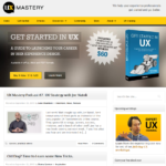 UX Mastery home page