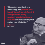 quote by Jeff Lawson, CEO at Twilio that says