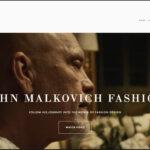 John Malkovich home page