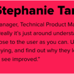 Stephanie Tanner; Manager, Technical Product Management, Carbon Black;