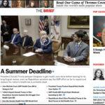 Time Magazine homepage