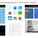 Linear Design Elements mood board